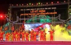 Bắn pháo hoa kỷ niệm 120 năm thành lập tỉnh Bắc Giang