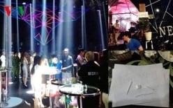 100 cảnh sát đột kích quán bar, dân chơi nháo nhào bỏ chạy