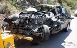 Suýt chết vì nhắn tin khi lái xe