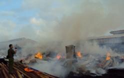 Lửa thiêu rụi xưởng gỗ, thiệt hại 3 tỷ đồng