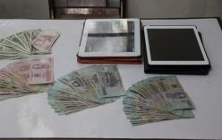 Siêu trộm đột nhập nhà chùa cuỗm máy tính bảng, USD