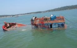 Tàu kiểm ngư Trung Quốc cướp tài sản, đâm chìm tàu cá Quảng Ngãi