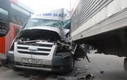 Xe khách phóng nhanh, vượt ẩu tranh khách gây tai nạn
