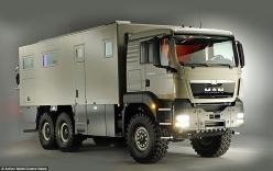 Cận cảnh xe tải bọc thép dành cho ngày tận thế giá gần 20 tỷ