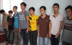 P HCM: Triệt phá băng nhóm nghiện hút, trộm cướp táo tợn