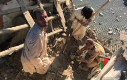 Động đất mạnh 7,5 độ richter, hàng trăm người thương vong