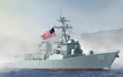 Tàu hải quân Trung Quốc theo dõi tàu chiến Mỹ gần Trường Sa
