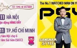 Show diễn của PSY tại Việt Nam bị hoãn