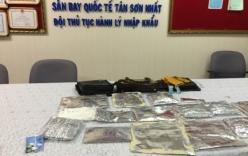 Nữ hành khách nước ngoài giấu 5 kg ma túy trong hành lý