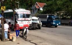 Quảng Ninh: Hai ô tô đối đầu, tài xế nguy kịch