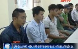 Lào Cai bắt giữ 36 tấn nguyên liệu thuốc lá lậu trên sông