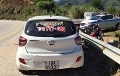 Công an đang vây bắt 4 đối tượng cướp taxi, trốn vào rừng