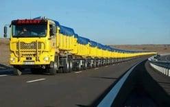Video: Những cỗ xe tải dài nhất thế giới