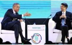 """Obama và Jack Ma: Cuộc trò chuyện giữa hai """"đầu tàu"""" đặc biêt"""
