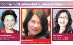Những người đàn bà quyền lực của nền kinh tế Trung Quốc