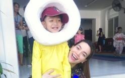 Facebook sao Việt: Hồ Ngọc Hà hạnh phúc bên con trai sau scandal