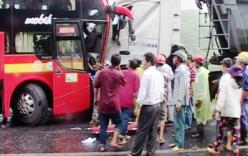 Vụ tai nạn giao thông giữa đèo Phước Tượng: Tài xế xe khách tử vong