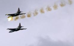 Video: Máy bay Nga phá hủy hơn 1.000 xe chở dầu của IS