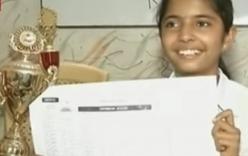 Video: Nữ sinh 14 tuổi phá kỷ lục tính nhẩm, 100 phép tính trong 86 giây