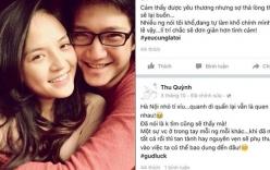 Vợ Chí Nhân đăng status buồn bã trước khi lộ ảnh chồng ôm Minh Hà