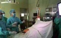 Mổ nội soi cắt ung thư dạ dày bằng kỹ thuật 3D đầu tiên Việt Nam