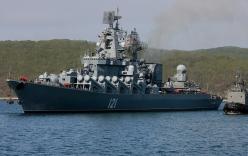 Nga đưa tàu chiến đến Syria sau vụ chiến đấu cơ bị bắn rơi