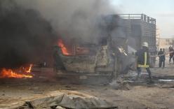 Xe cứu trợ của Thổ Nhĩ Kỳ trúng bom sau vụ Su-24 bị bắn hạ