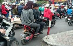 Xe đạp điện sang đường không cần nhìn, tạt đầu ô tô gây tai nạn