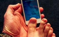 Bảo mật cho smartphone bằng... vân chân