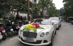 Dàn xe đón dâu 30 tỷ trong đám cưới của ca nương Kiều Anh