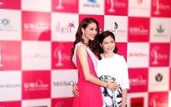 Cận cảnh nhan sắc trẻ đẹp của mẹ Hoa hậu Phạm Hương
