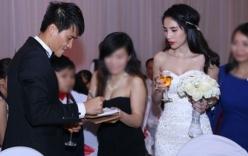 Sao Việt dở khóc dở cười vì đám cưới gặp sự cố