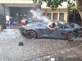 Siêu xe Lamborghini gây tai nạn giao thông thảm khốc