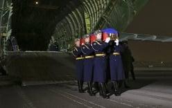 Thi thể phi công Su-24 đã về đến Nga