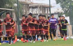 ĐT U23 Việt Nam thiếu vắng nhiều cầu thủ trong buổi tập đầu tiên