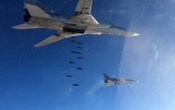 Video: Chiến đấu cơ Nga oanh tạc gần 1.500 mục tiêu IS ở Syria