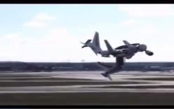 Top video hot ngày 9/12: Máy bay phiên bản Transformers hạ cánh