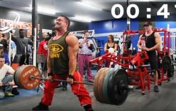 Kỷ lục Guinness 2016: Lực sĩ Canada nâng gần 10 tấn trong 1 phút