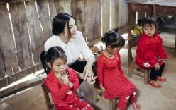 Lý Nhã Kỳ xây trường mầm non cho trẻ em ở vùng cao
