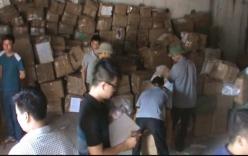 Quảng Ninh: Phát hiện và thu giữ 5 tấn mỹ phẩm không nguồn gốc