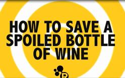 Tuyệt chiêu tìm lại hương vị cho rượu vang hỏng