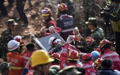 Video: Tìm thấy người sống sót trong vụ lở đất ở TQ sau gần 3 ngày