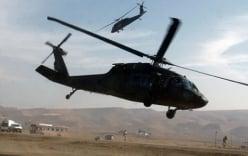 Nghi vấn IS lén dùng trực thăng thả quân xuống Afghanistan