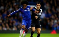 Oscar đá hỏng phạt đền, Chelsea bị cầm hòa trong ngày ra mắt Guus Hiddik