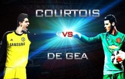Video: Những pha cứu thua xuất thần giữa De Gea và Courtois
