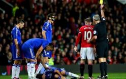 Rooney xứng đáng nhận thẻ đỏ với pha vào bóng thô bạo với Oscar