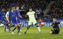 Chia điểm với Man City, Leicester mất ngôi đầu bảng vào tay Arsenal