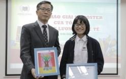 Nữ sinh đạt giải Nhì thế giới cuộc thi vẽ