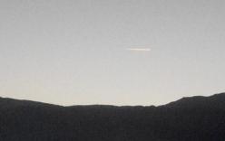 Xuất hiện vệt sáng lạ trên bầu trời Lâm Đồng