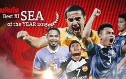 Đội hình tiêu biểu ĐNÁ 2015: Sạch bóng cầu thủ Việt Nam